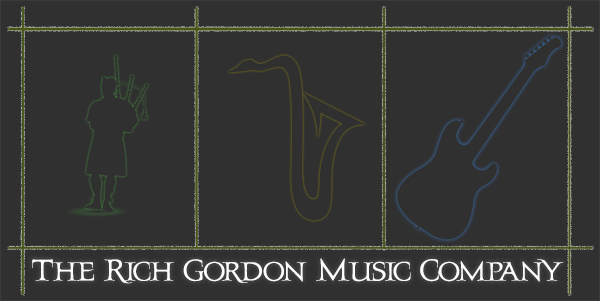 The Rich Gordon Music Company Logo