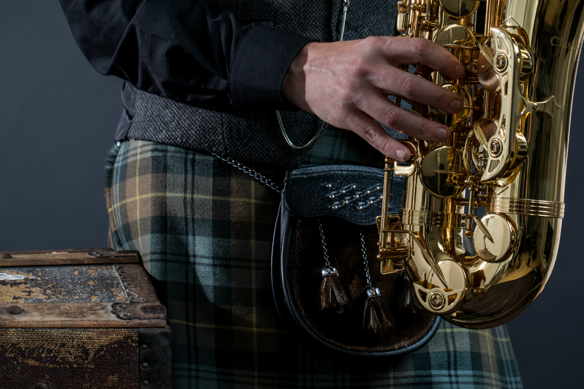 Rich Gordon - Kilted Sax